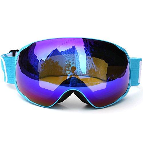PhantomSky Kreative Überlegen UV400 Schutz Anti-Fog-Radsport Sport Ski-Schneebrillen #2 - Pro-Design für Outdoor-Aktivitäten