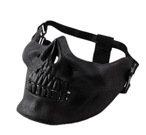 Clown Maske Beängstigend Maske Halloween Schädel Schädel Maske Kostüm Halb Gesicht Maske Für Party E