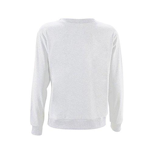 Vêtements LILICAT Chemise à manches longues occasionnels pour les femmes white
