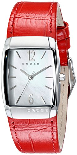Cross Women's CR9005-03 Arial Analog Display Japanese Quartz Red Watch