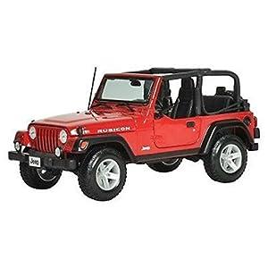 Maisto - Jeep Wrangler Rubicon en Escala 1/18 (31663)
