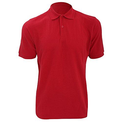 Jerzees Colours Herren Polo-Shirt, Kurzarm Hellgrau