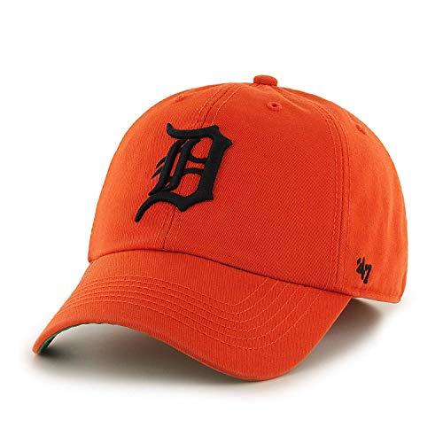 MLB Detroit Tigers Franchise Fitted Hat 47, Unisex, Orange, XX-Large