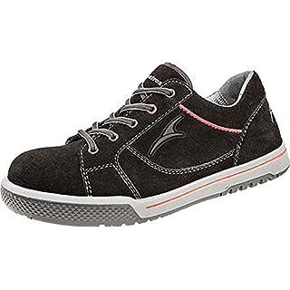 Albatros Freestyle Black LOW, Unisex-Erwachsene  Sicherheits-Sneakers, Schwarz (schwarz), 43 EU