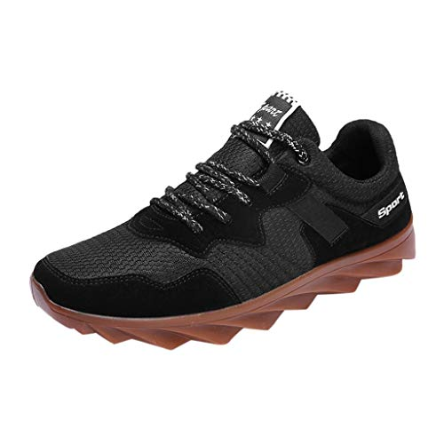 Luckycat Herren Laufschuhe Sneaker Sportschuhe Damen Freizeitschuhe Running Fitnessschuhe Turnschuhe Outdoor Wanderschuhe Leichte Rutschfest Bequem Mode Joggingschuhe Straßenlaufschuhe