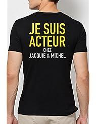 T-shirt Acteur Jacquie & Michel