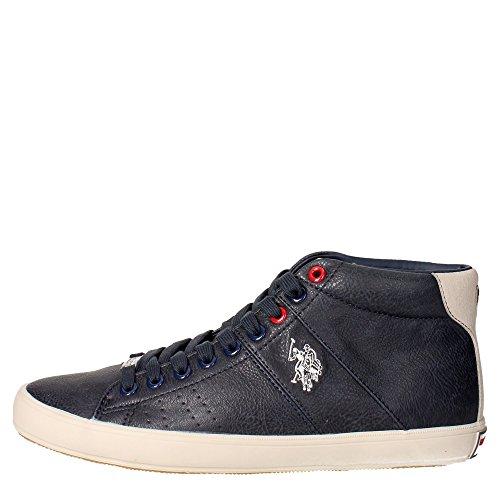 U.s. Polo Assn CADET4172W6/YS1 Sneakers Uomo Pelle Sintetico Blu Blu 42