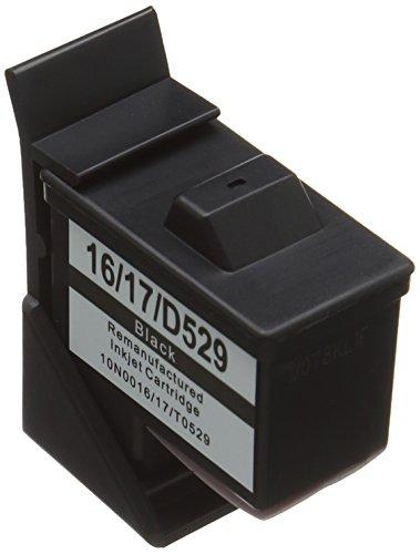 Prestige Cartridge No. 16 2er Pack Druckerpatronen für Lexmark i3 X1100 X1150 X1180 X1240 X1250 X1270 X1290 X2230 X2250 X74 X75 Z13 Z23 Z24 Z25 Z33 Z34 Z515 Z602 Z605 Z640 Compaq IJ650 IJ652 schwarz -
