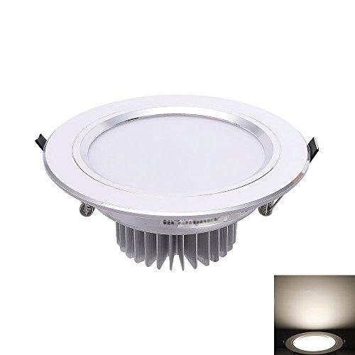 Esszimmer Set Küche Warenkorb (Verlight LED-Einbau-Decken-Spot-Downlight-wasserdichte Panel-Lampe Runde energiesparende Einfache Spotlight-umweltfreundliche Blendungs-Lampe Hohe CRI Ra80 AC110-240V (Color : Warm white 4000K-9W))