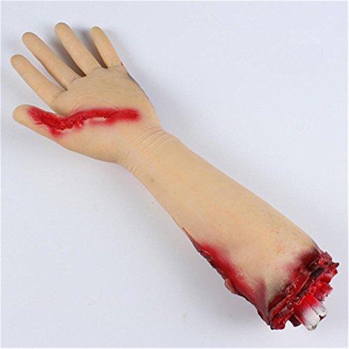 or Bloody Fake Hand Fake Fuß gebrochene Hände und Füße des Satzes Die Horror Requisiten , (Prop Sarg)