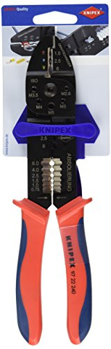 Knipex 97 22 240 SB Crimpzange Länge: 265 mm
