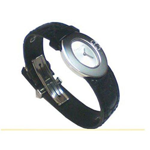 Christian Dior Damen-Uhr mit Leder-Armband der Kollektion Lady Dior (Uhr Christian Dior Damen)