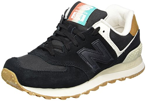New Balance 574 Global Surf, Zapatillas para Mujer, Negro (Black), 39 EU
