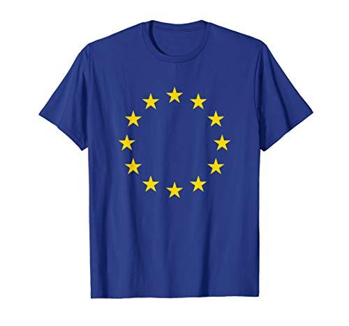 Europa / Europäische Union - EU-Flagge auf T-Shirt T-Shirt