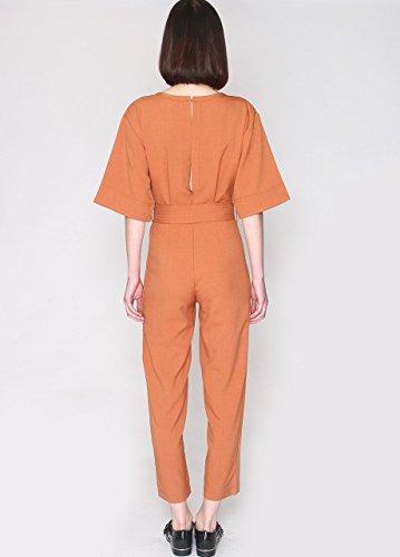 Pepa Loves Lidia, Combinaison Femme Orange (Rust)