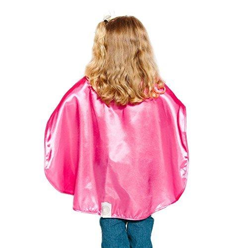 Everfan Polyester-Satin Superheld-Kap - Kinder Magenta ()