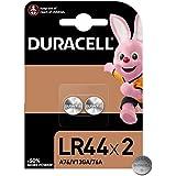 Duracell Pilas especiales alcalinas de botón LR44 de 1.5 V, paquete de 2 unidades 76A/A76/V13GA, diseñadas para su uso en jug