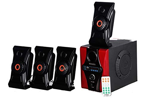 Sensex 4.1 Cool Bluetooth Home Theater System Speaker with FM/AUX/USB/SD Card Support with Remote