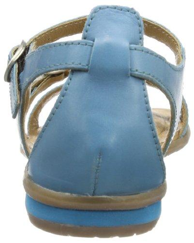 Gabor girls  Flora, Escarpins peep-toe fille Bleu - Blau (blu)