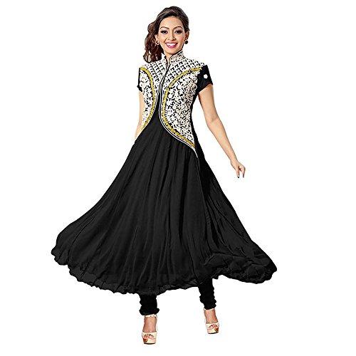 Muta Fashions Women's Banglory Silk Kurti(Blue_Free Size)