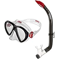 Arena SEA Discovery 2 Mask Gafas de bucear, Unisex Adulto, Clear/Black, Talla Única