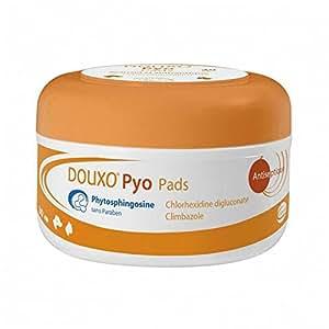 Soin cutané pour Chien & Chat, Douxo Pyo Pads - Apaisant et antiseptique - 30 cotons - SOGEVAL