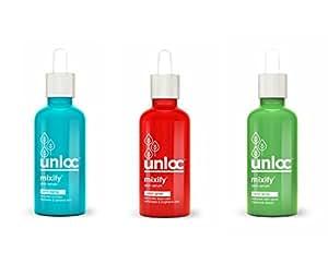 MIXIFY Combo of Unloc Skin Glow, Anti Acne and Anti-Aging Serum - 30ml Each