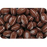 Luxury Solid Mini Milk Chocolate Rugby Balls BROWN (150g bag) (pack of 30)