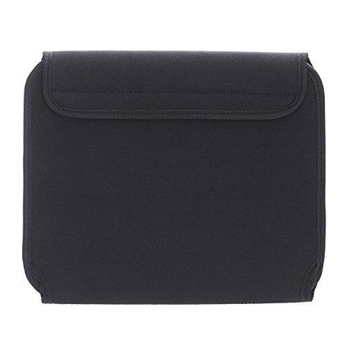 Elektronik Organizer Case Tasche, JOTO Travel Gear Management Organizer für Elektronik Zubehör Werkzeuge Kabel Kosmetik Personal Care Kit mit Sleeve Bag für Tablets iPad Laptops 10,1-Zoll (schwarz)