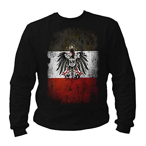 Reichsadler s-w-r Sweatshirt (S) -