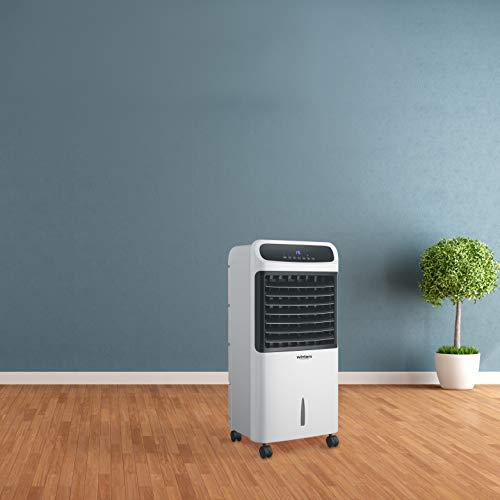 horus climatizzatore portatile 80/2000 watt con telecomando aria calda e aria fredda con display digitale e timer