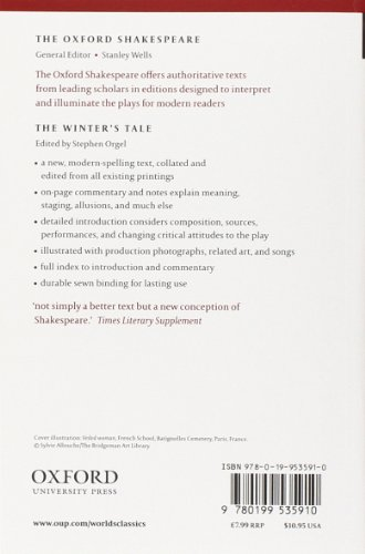 Oxford World's Classics: The Oxford Shakespeare: The Winter's Tale (World Classics)