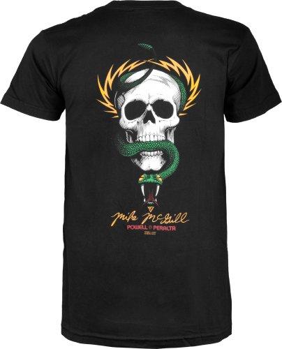 Powell Peralta Mcgill cráneo y serpiente T-Shirt, hombre, negro,...