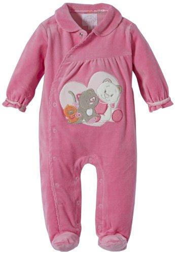 Noukies BB1380132 Pyjama Bébé fille - Rose - Rosa (Rosa ) - FR : 2 mois (Taille fabricant : 56)