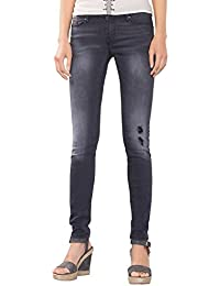 edc by Esprit Im Used-Look, Jeans Femme