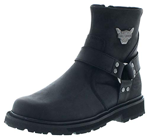 FB Fashion Boots D93491 Rambert - Stivali da Motociclista, da Uomo, con Scarpa, Nero (Nero), 46 EU