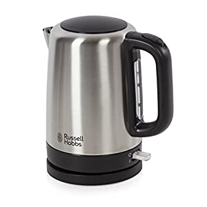 Russell Hobbs Canterbury Kettle 20610, 1.7 L, 3000 W - Brushed Stainless Steel Silver