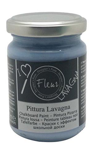 Fleur Designer'S Paint Fleur Colore Effetto Lavagna - 130 Ml - F63 Copenaghen Blue