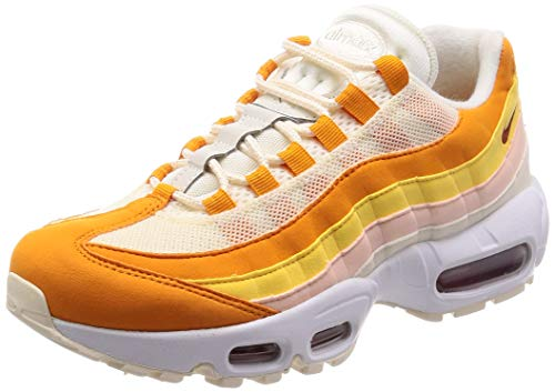 Nike Wmns Air MAX 95, Zapatillas de Atletismo para Mujer, (Pale Ivory/Firewood Orange Peel 000), 38.5 EU