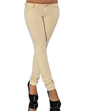 G701 Damen Jeans Look Hose Röhre Leggings Leggins Treggings Skinny Jeggings