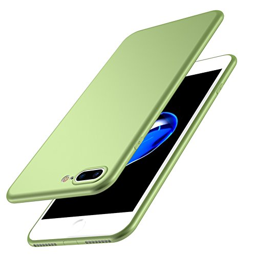 Iphone 7 Ultra-Dünn 0.5mm Matt Hülle + Gehärtetes Glas,SUNAVY 360-Grad Anti-stoß Anti-Kratzer Leichte Weich HandyMatte Hülle TPU SchutzMatte Hülle für Apple7,4.7zoll,WineRot Grün