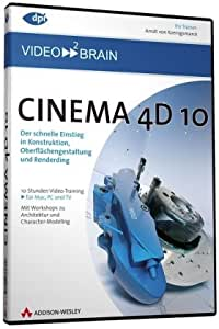 Cinema 4D 10 - Video-Training (PC+MAC-DVD)