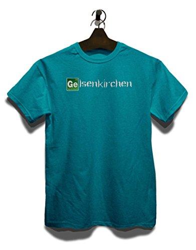 Gelsenkirchen T-Shirt Türkis