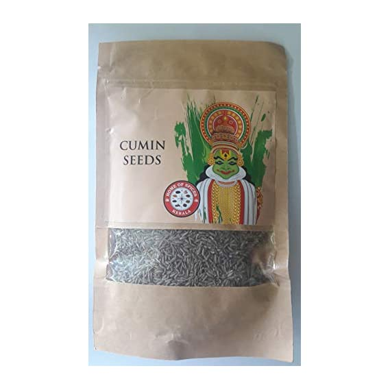 Home of Spices Pure Organic Cumin Seeds (Jeera) 200gms