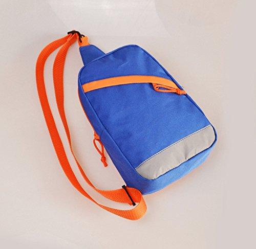 LWVAX Waterproof Shoulder Sling Chest Bag Running Hiking Cycling Travel Pack Backpack For Men Women