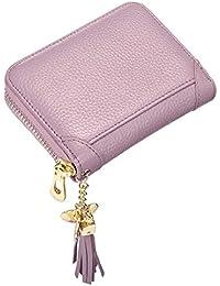 d9fd48fc83b1f JOSEKO Damen echtes Leder Geldbörse Kreditkartenhalter RFID Schutz