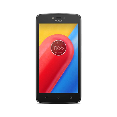 Motorola Moto C 12,7 cm (5') 1 GB 16 GB SIM única 4G Rojo 2350 mAh - Smartphone (12,7 cm (5'), 1 GB, 16 GB, 5 MP, Android 7.0, Rojo)