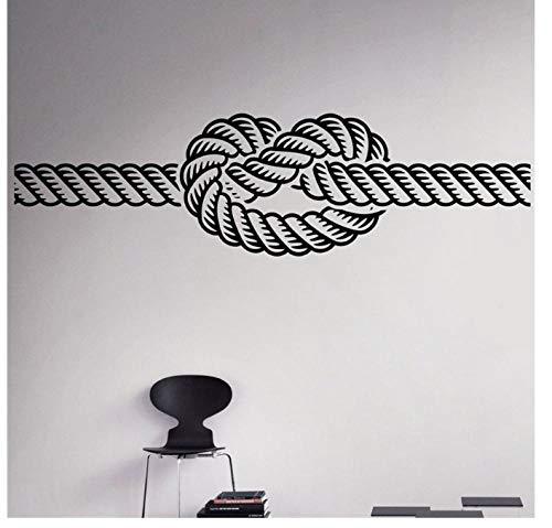 Marine Knoten Wand Vinyl Aufkleber Meer Nautischen Wandaufkleber Home Wall Art Decor Ideen Wand Innen 58 * 16 cm