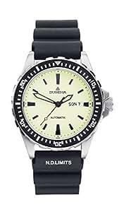 Dugena Herren-Armbanduhr Sportuhr Analog Automatik Silikon 4167791