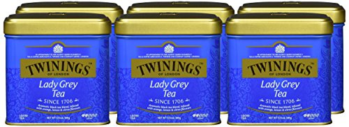 Twinings Lady Grey Dose 100g, 6er Pack (6 x 100 g)